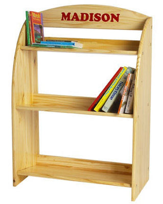 Childrens Bookcase, Personalization Available