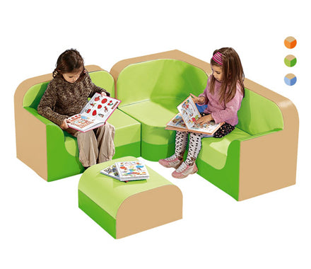 Kids New Club Corner Sofa Set By Wesco