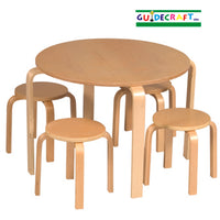 Kids Nordic table chair set - natural by GuideCraft