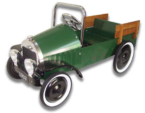 Kids Pedal Cars-Jalopy Pedal Pickup Truck-Green