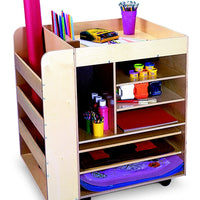 Kids Rolling Art Cart-Made in USA