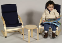 Kids furniture-KIDDIE ROCKER SET (Blue)