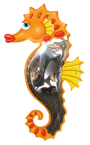 Kids Seahorse Mirror Wall Panel-Made in USA