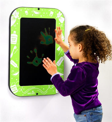 Kids Smile Power Finger painting Wall Panel, Made in USA