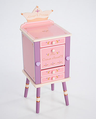 Kids storage furniture-Princess Jewelry Cabinet
