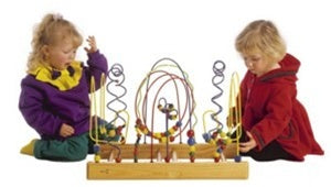 Kids Tunnel Mountain Wire Bead Toy