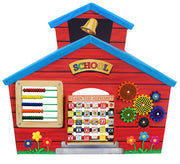 Learning Toys-School House Wall Panel by Anatex-Made in USA