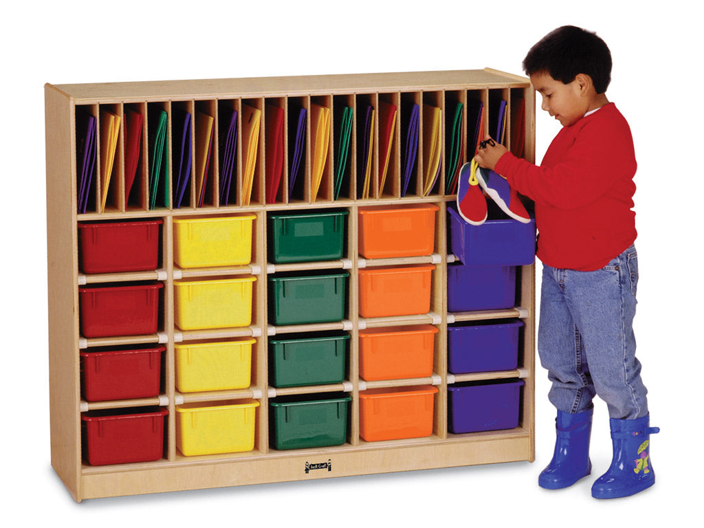 CLASSROOM ORGANIZER - 20 - Optional trays by Jonti Craft