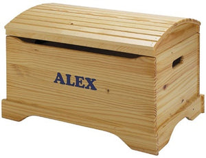 American Made Captain's Toy box/Toy Chest, Personalization Available