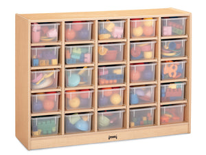 25 TRAY MOBILE CUBBIE Optional trays by Jonti Craft