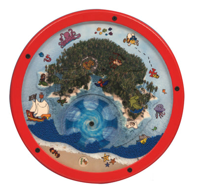 Waiting room toys-Treasure Island Wall Game Wall Toy