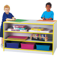 RAINBOW ACCENTS® STORAGE ISLAND Double Sided,Optional Trays - 8 Colors by Jonti Craft