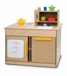 Preschool Pretend Play Furniture- Kitchen Island-Made in USA