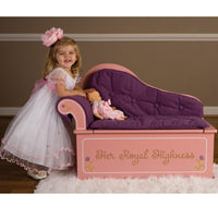 Princess Fainting Couch w/Storage