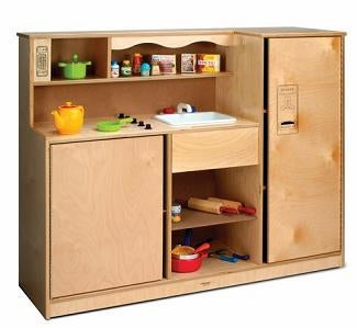 Pretend Play Preschool Kitchen Combo-Made in USA