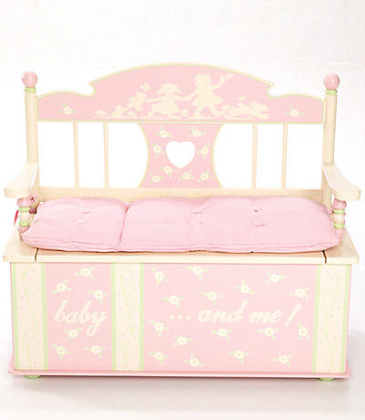 Kids Toybox-Rock-A-My-Baby Toy Box Bench