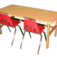 Side by Side Kids Double Desk-Made in USA