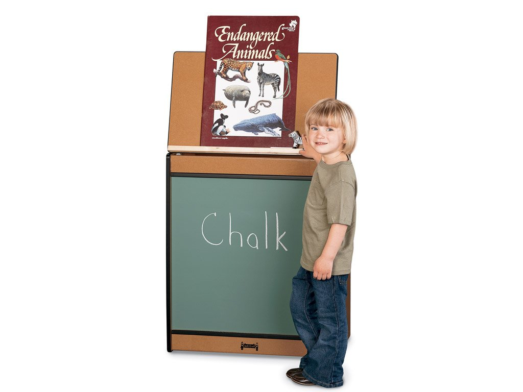 SPROUTZ® BIG BOOK EASEL - CHALKBOARD - 4 colors by Jonti Craft