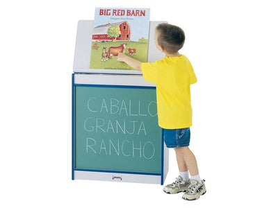 RAINBOW ACCENTS®  BIG BOOK EASEL - CHALKBOARD - 8 colors by Jonti Craft