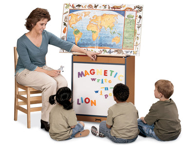 SPROUTZ® BIG BOOK EASEL - MAGNETIC WRITE-n-WIPE - 4 colors by Jonti Craft