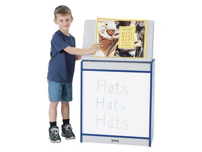 RAINBOW ACCENTS®  BIG BOOK EASEL - WRITE-n-WIPE - 8 colors by Jonti Craft