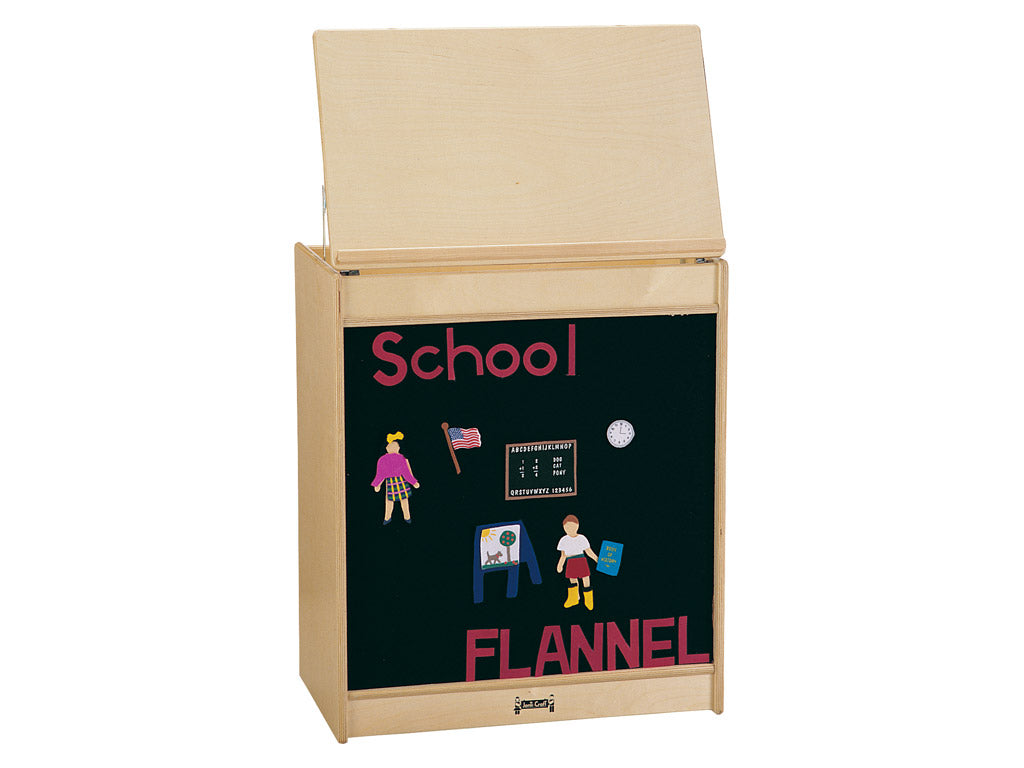 BIG BOOK EASEL - FLANNEL by Jonti Craft