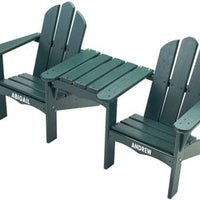 Kids Chairs-Tete-a-tete Chair, Personalization optional,