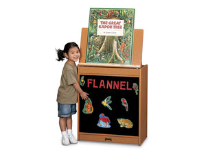 SPROUTZ® BIG BOOK EASEL - FLANNEL - 4 colors by Jonti Craft