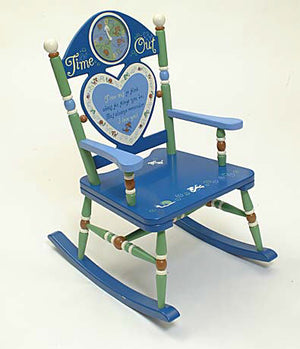 Time Out Kids Rocking Chair - Boy