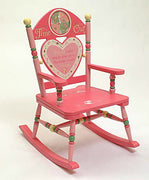 Time Out Kids Rocking Chair - Girl