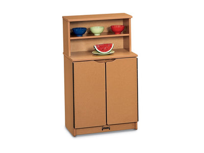 SPROUTZ® KITCHEN CUPBOARD - BLACK,CARAMEL,NAVYor RED by Jonti Craft