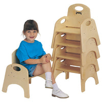 Stackable Chair-CHAIRRIES® -Six seat heights  by Jonti Craft