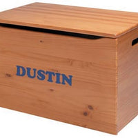 American Made Toy Chest/ToyBox, Personalization optional-More Colors