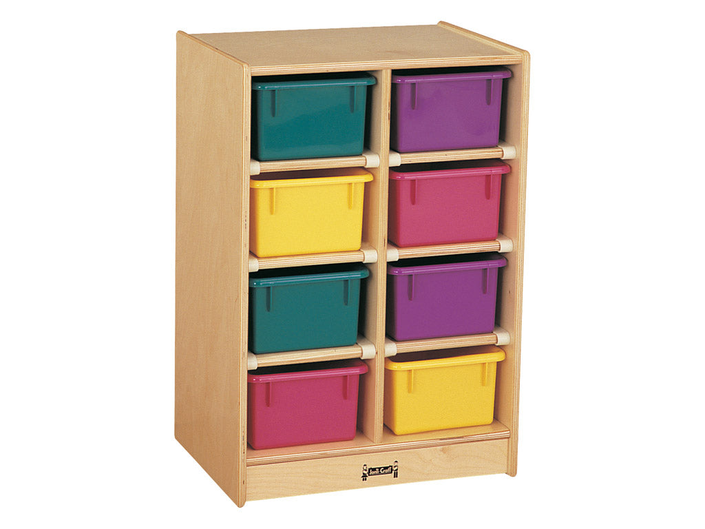 8 TRAY MOBILE STORAGE Optional trays by Jonti Craft