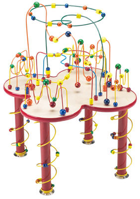 The Ultimate Fleur Rollercoaster Child Play Table -Made in USA