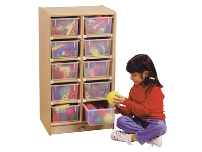 10 TRAY MOBILE STORAGE Optional trays by Jonti Craft