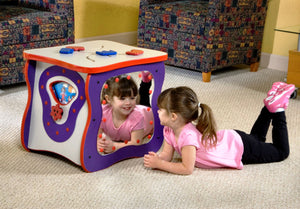 Waiting Room Toy-5 Sides Creativity Cube, Made in USA