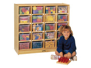 20 TRAY MOBILE STORAGE Optional trays by Jonti Craft