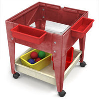 Youth Clear-View Mobile Mite/Play Table