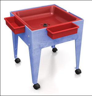 Youth Mite with Red Tub w/Lid w/Drain, made in USA
