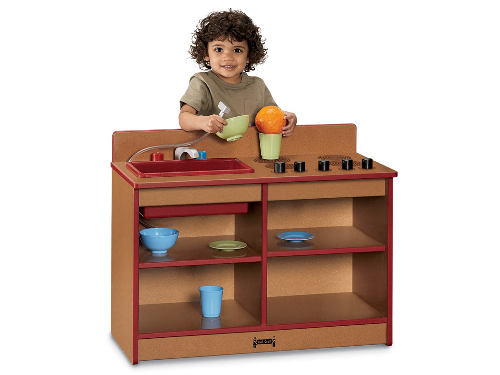 SPROUTZ® TODDLER 2-in-1 KITCHEN - 4 colors by Jonti Craft