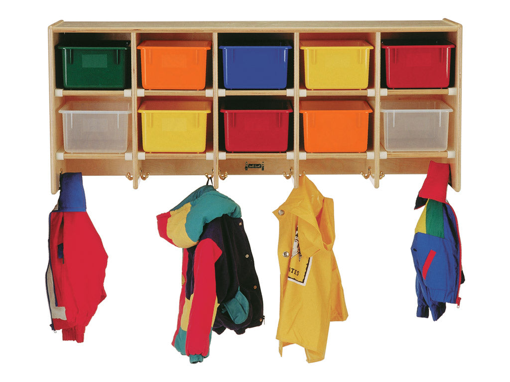 COAT LOCKER - LARGE WALL MOUNT Optional trays by Jonti Craft