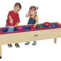 3 TUB SENSORY TABLE - TODDLER by Jonti Craft