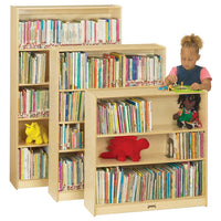 Natural BOOKCASE - 3 Heights by Jonti Craft