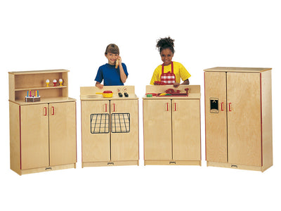 SCHOOL AGE KITCHEN SET - 4 PIECE SET Natural by Jonti Craft