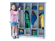 RAINBOW ACCENTS® COAT LOCKER - 5 SECTIONS - 9 Colors by Jonti Craft