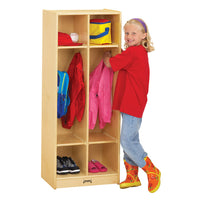 DOUBLE LOCKER - 2 SECTIONS by Jonti Craft