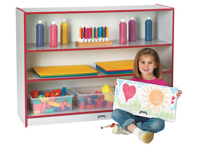 RAINBOW ACCENTS® SUPER-SIZED ADJUSTABLE BOOKCASE - 9 Colors by Jonti Craft