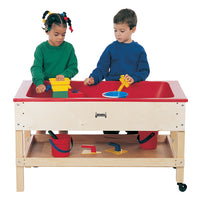 SENSORY TABLE w/SHELF by Jonti Craft