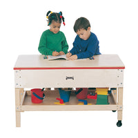 SENSORY TABLE w/SHELF - TODDLER by Jonti Craft